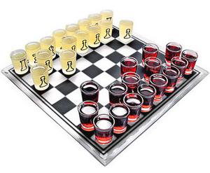Алкогольный вариант игры есть и в шахматах