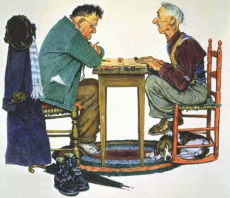 В чем недостаток серьезных занятий шашками?